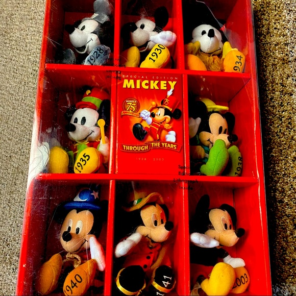 Disney 75th Anniversary Mickey Though the Years
